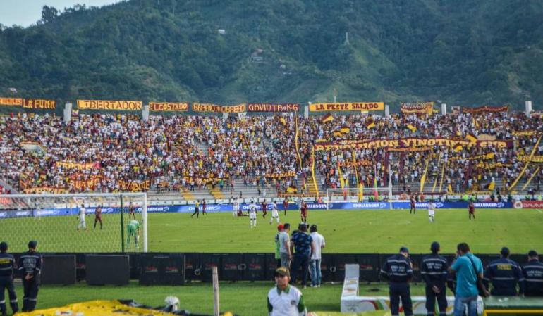 Hinchada del Deportes Tolima
