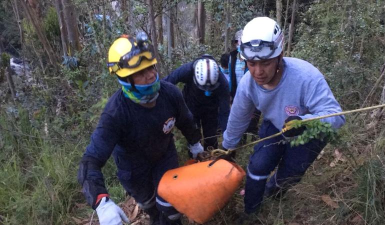 Mujer aparece muerta en el río Guáitara: Hallan cuerpo en el río Guáitara