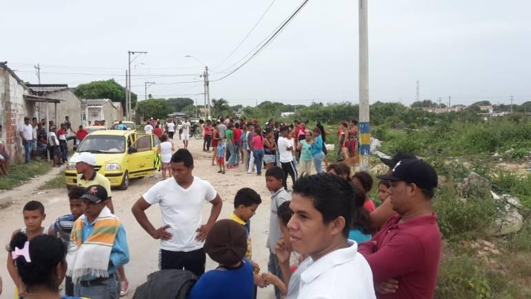 Predio El Edén, noroccidente de Barranquilla