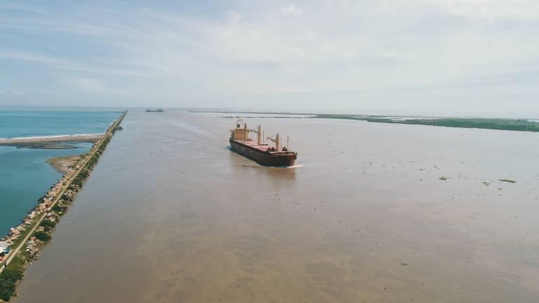 Bocas de Ceniza, Barranquilla.