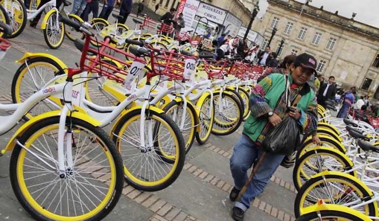 bicicletas públicas: Denuncian problemas legales en empresa que operaría bicicletas públicas