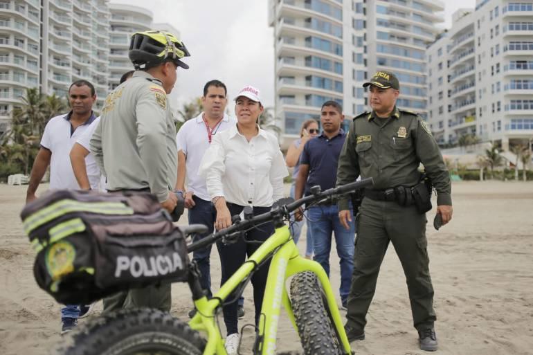 Crean grupo élite contra abuso de precios en las playas de Cartagena: Crean grupo élite contra abuso de precios en las playas de Cartagena