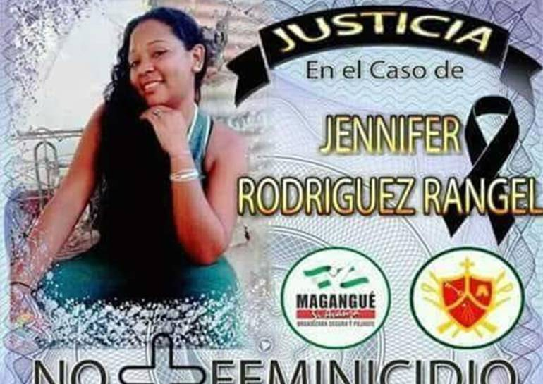 Exigen justicia por caso de feminicidio en Magangué, Bolívar: Exigen justicia por caso de feminicidio en Magangué, Bolívar