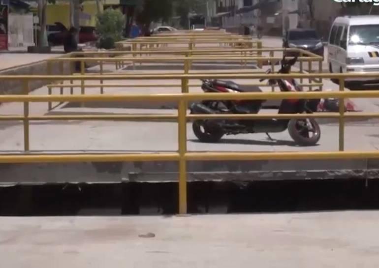 Distrito de Cartagena busca recursos para obras del canal Emiliano Alcalá: Distrito de Cartagena busca recursos para obras del canal Emiliano Alcalá