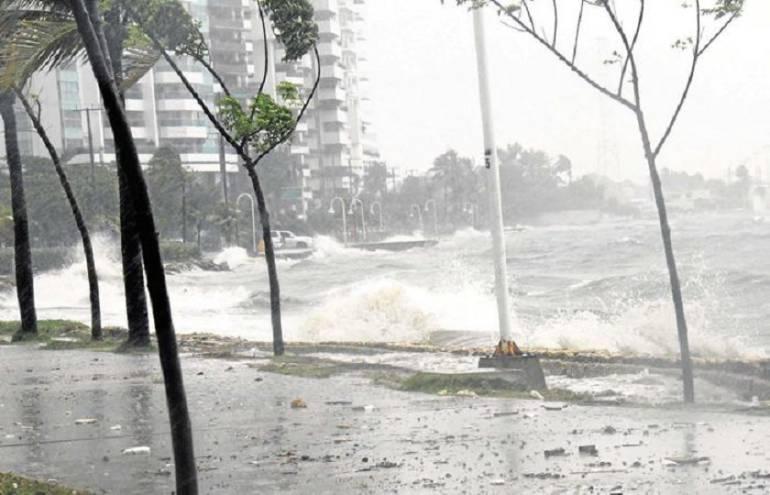 Alcaldía de Cartagena extrema medidas por temporada de lluvias y huracanes