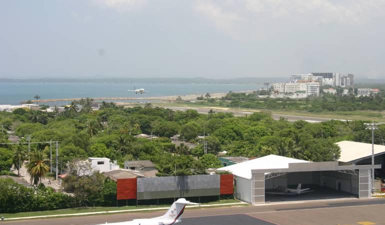 Esta semana restituirán predio para ampliar aeropuerto de Cartagena