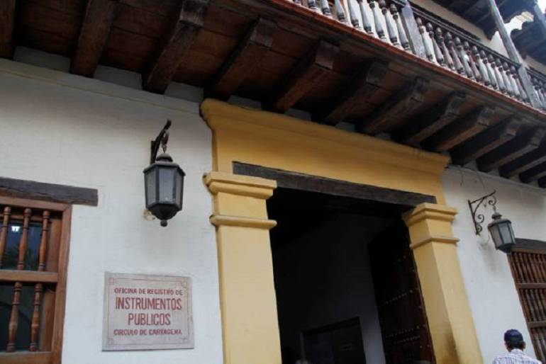 Supernotariado intervino oficina de Instrumentos Públicos de Cartagena
