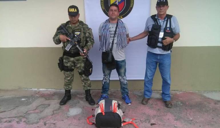 captura a extorsionista: Ejército capturó a extorsionista en Ibagué