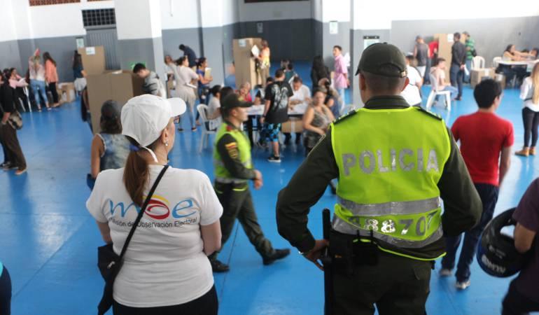 Registraduría en Caldas entrega parte de tranquilidad para elección presidencial
