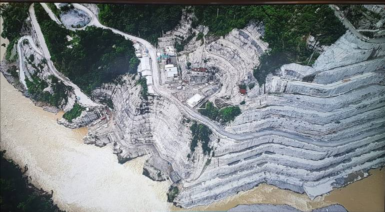Hidroituango, embalse: Clima contribuye a bajar el nivel de la presa en Hidroituango