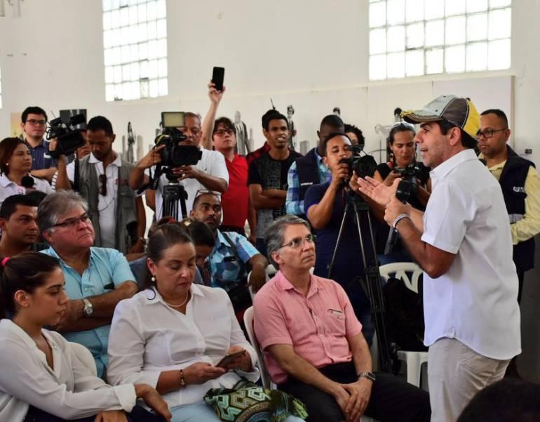 """""""Hoy no están"""": Char sobre los $30.000 millones para Centroamericanos"""