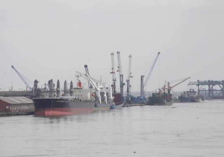 Bajo calado en el Puerto de Barranquilla, mala señal para inversionistas