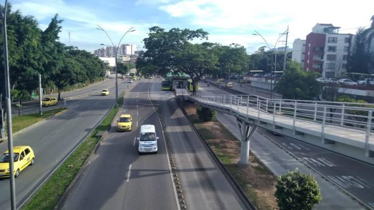 Bumangueses no acataron el día sin carro y sin moto: Bumangueses no acataron el día sin carro y sin moto