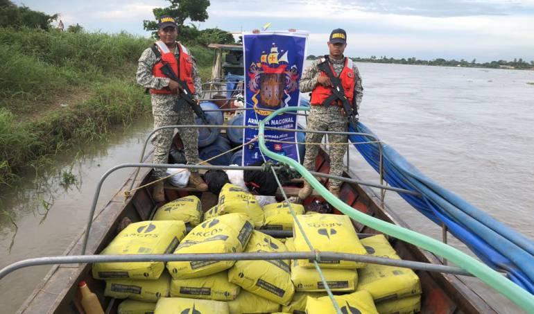 Incautan 2.5 toneladas de cemento sin documentación en Magangué, Bolívar