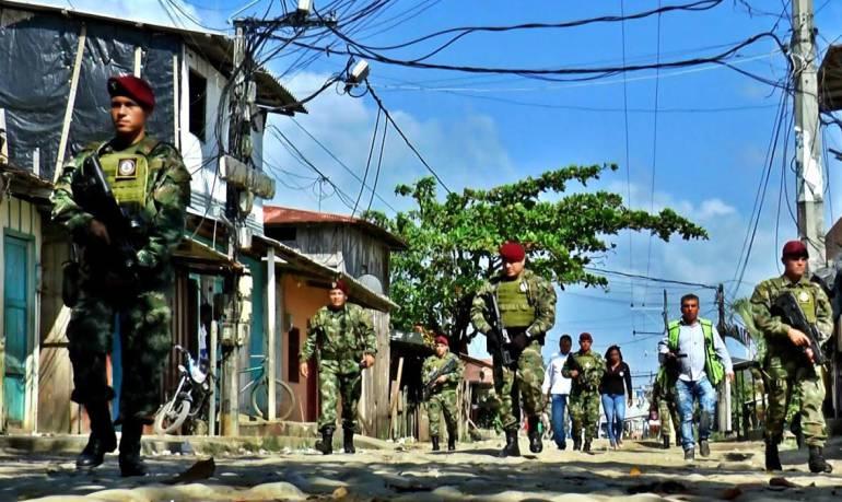 Ejército, minería, ilegal, Antioquia: Antioquia tendrá brigada del Ejército contra la minería ilegal