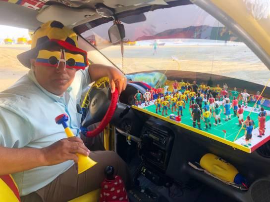 Selección Colombia: En Santa Marta está el taxista tricolor