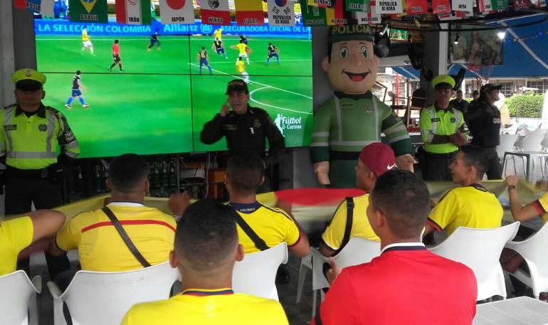 Refuerzan seguridad en establecimientos de Barranquilla durante el mundial