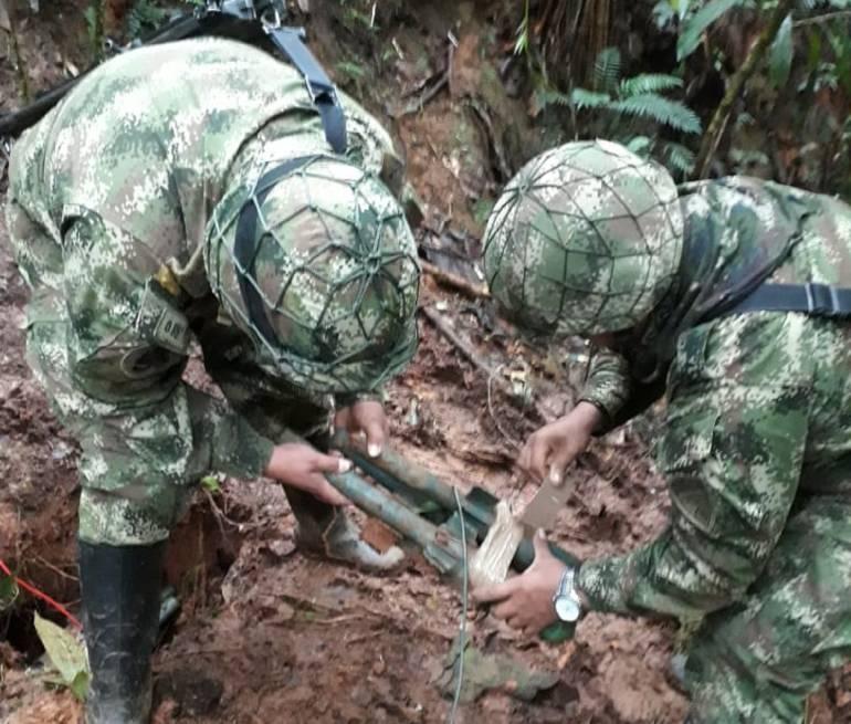 Deposito explosivos: Ejército descubre depósito ilegal de explosivos
