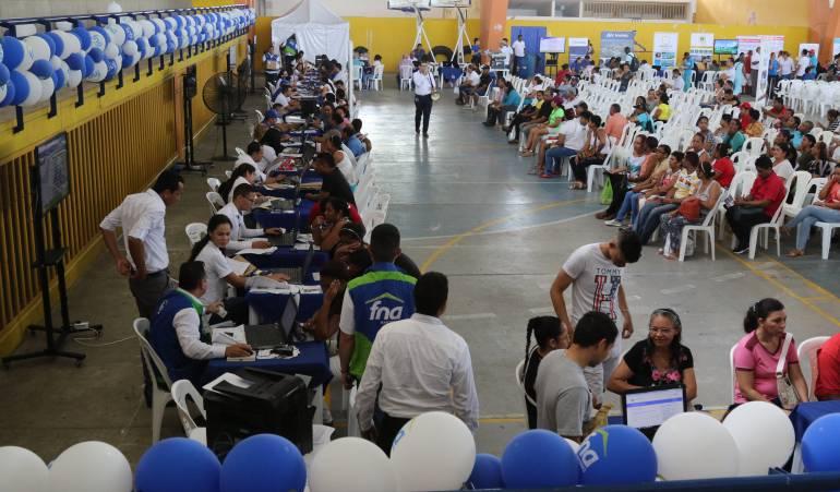 """Mi casa ya en Cartagena: 3776 asistentes a feria """"Mi Casa Ya Para Todos"""" en Cartagena"""