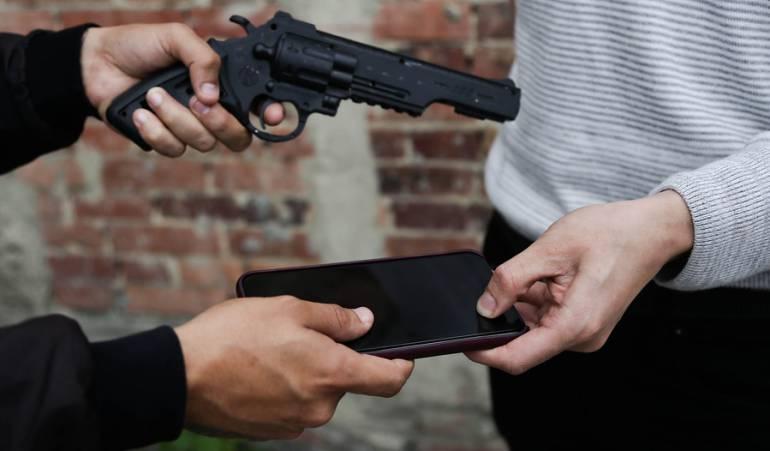 Hurto de Celulares: Nueve veces ha quedado libre hombre que roba celulares en Bogotá