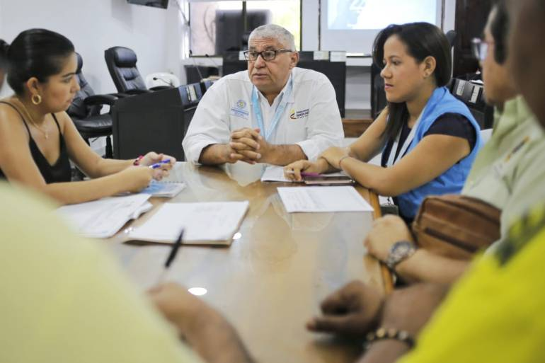 PES articula oferta institucional para familias del sur de Cartagena: PES articula oferta institucional para familias del sur de Cartagena