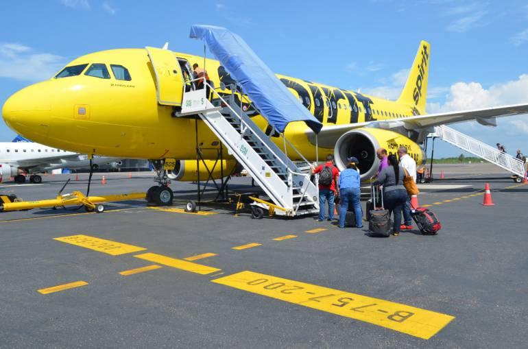 Spirit ha anunciado una nueva ruta directa de Cartagena a Orlando: Spirit ha anunciado una nueva ruta directa de Cartagena a Orlando