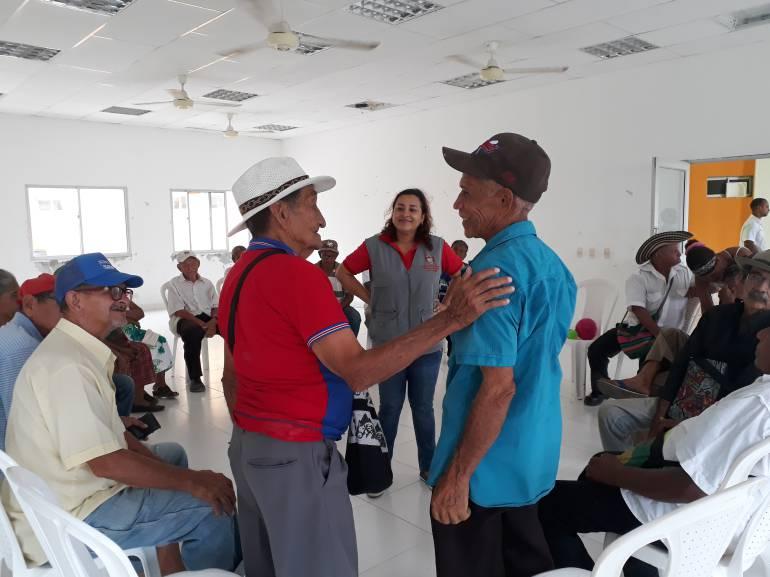 Con lúdicas, personas mayores de Bolívar le dicen no al maltrato: Con lúdicas, personas mayores de Bolívar le dicen no al maltrato