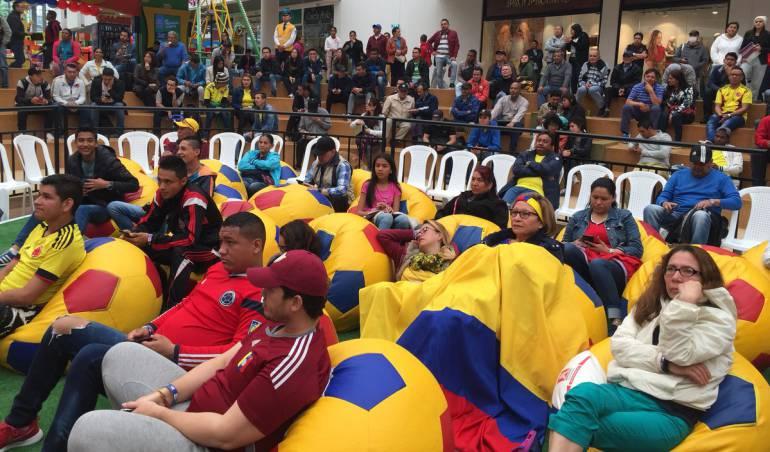 Mundial Rusia 2018: Por el mundial, millonaria inversión en los centros comerciales de Bogotá