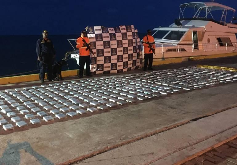Capturan a dos españoles con 390 kilogramos de cocaína en San Andrés