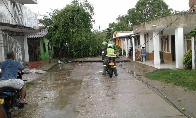 """""""Tenemos 500 viviendas afectadas por vendaval"""": alcalde de Repelón"""