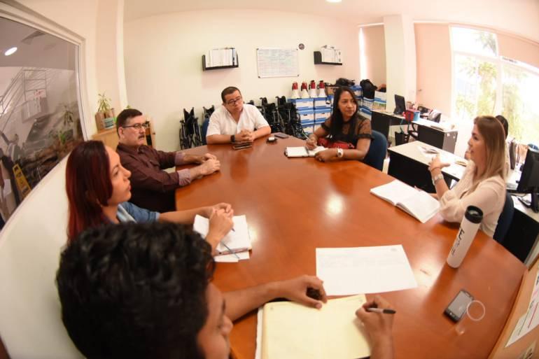 Alianza entre Transcaribe y colegio en valores y educación vial: Alianza entre Transcaribe y colegio en valores y educación vial