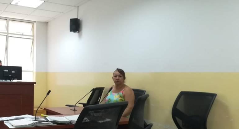 Luz Ángela Saavedra tiene 56 años de edad.