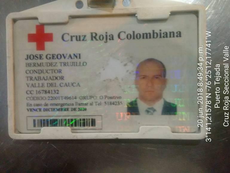 Aparece funcionario de la cruz Roja Valle que estaba desaparecido: Cruz Roja Valle pide respeto a labor humanitaria