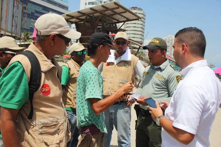 Vendedores informales abusivos en Cartagena perderán confianza legítima: Vendedores informales abusivos en Cartagena perderán confianza legítima