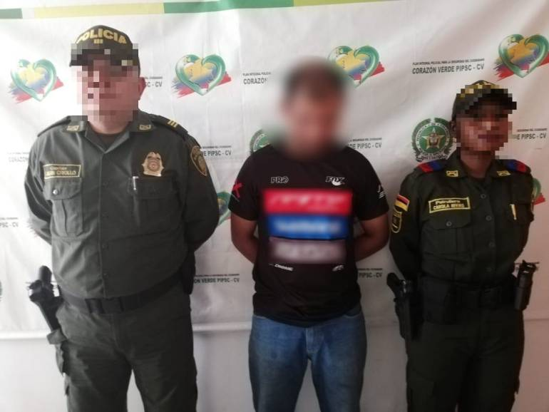 Encarcelan a uno de los Mondongueros por desplazar a madre de familia