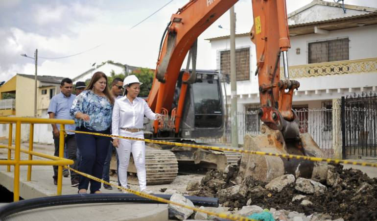 Cartagena, canal pluvial, obras civiles: Avanzan en 80% obras del canal Emiliano Alcalá en Cartagena