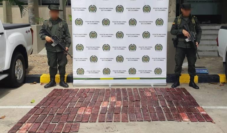 Cartagena, incautación de droga, narcotráfico: Incautan en Cartagena cargamento de cocaína con destino a España