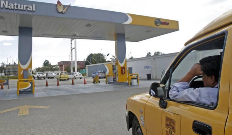 gas natural vehícular: Taxistas reportan perdidas económicas ante desabastecimiento de gas