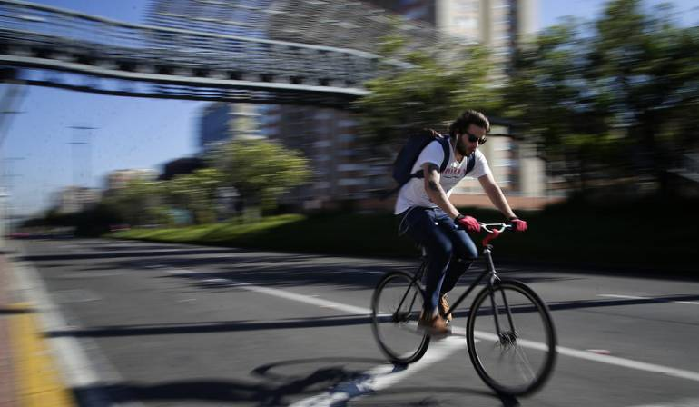 Bogotanos usan la bicicleta en un 65% como medio de transporte alternativo