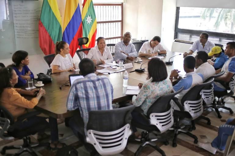 Obras en San Felipe Neri deben iniciar en 15 días: Alcaldesa de Cartagena: Obras en San Felipe Neri deben iniciar en 15 días: Alcaldesa de Cartagena