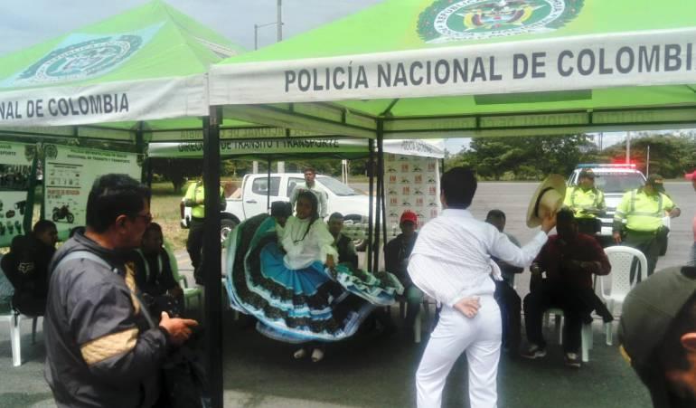 """Campaña """"Bailo Sanjuanero en la Vía"""