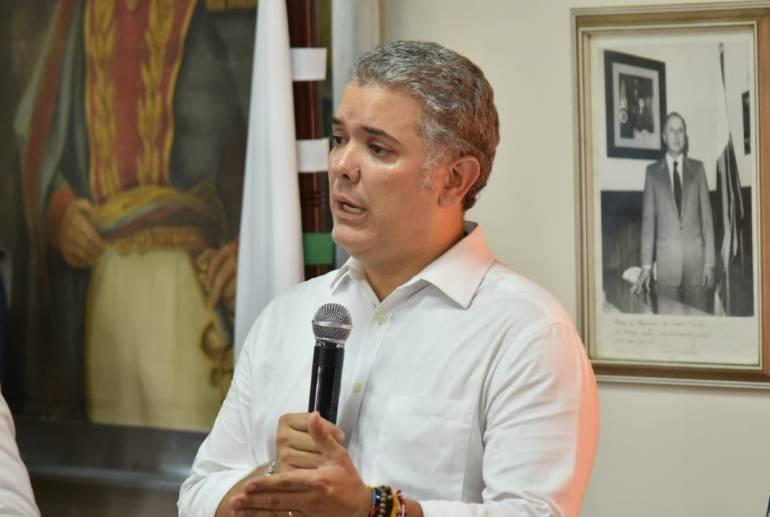 Iván, Duque, Luis Perez, hidroitungo, proyectos, Antioquia, recorrido: Presidente electo Iván Duque apoyará grandes proyectos de Antioquia