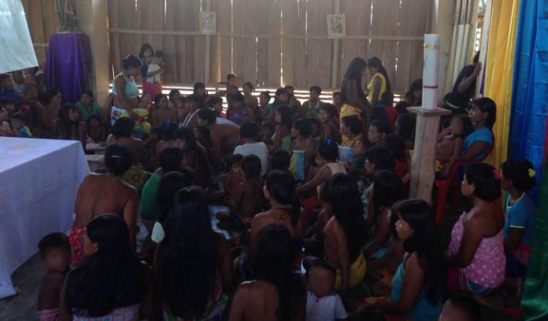 Desplazamientos en Chocó: Combates de bandas criminales en Chocó obligan al encierro a indígenas
