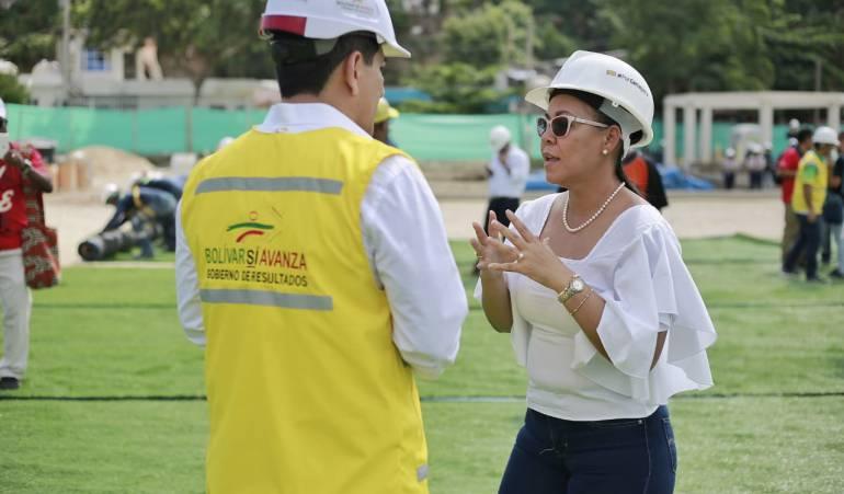 Juegos Nacionales, Deportes, Cartagena, Bolívar: Juegos Nacionales van pa' lante: Alcaldesa (e) de Cartagena
