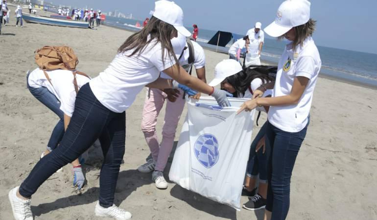 Medio ambiente, Limpieza, Cartagena, Playas: Lanzan campaña de limpieza en las playas de Cartagena