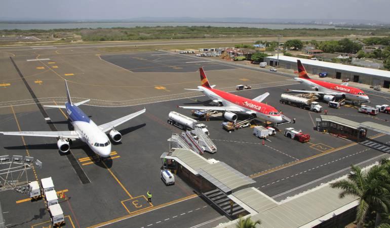 Aeropuerto de Cartagena recibe certificación de Aeródromo