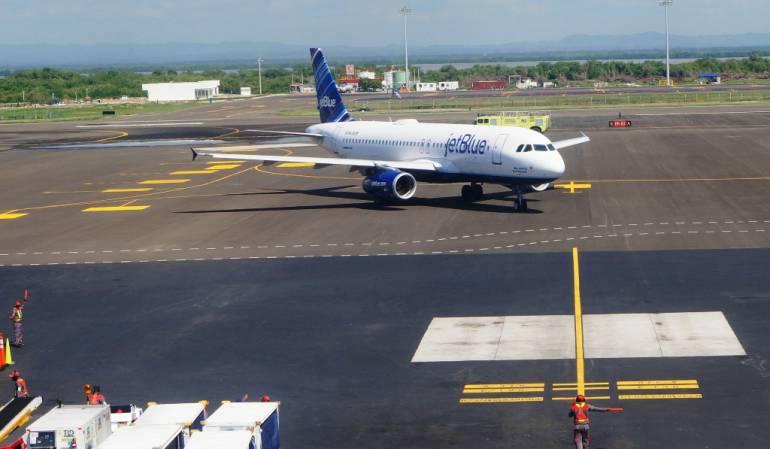 Ruta aérea, Aeropuerto Rafael Nuñez, Cartagena: Nueva ruta directa de Cartagena a Orlando Florida
