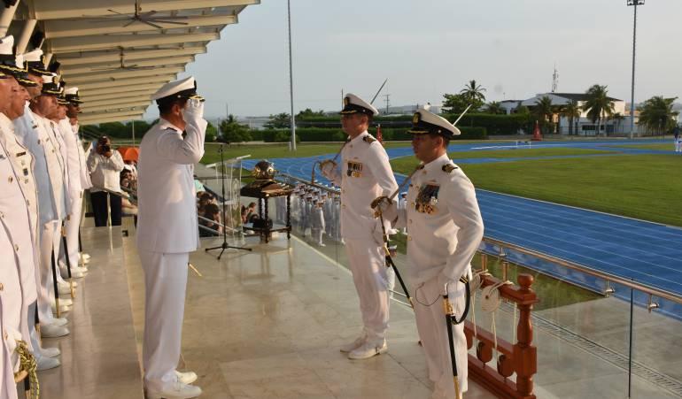 Escuela naval, Cartagena: Batallón de cadetes de la Escuela Naval de Cartagena tiene nuevo Comandante