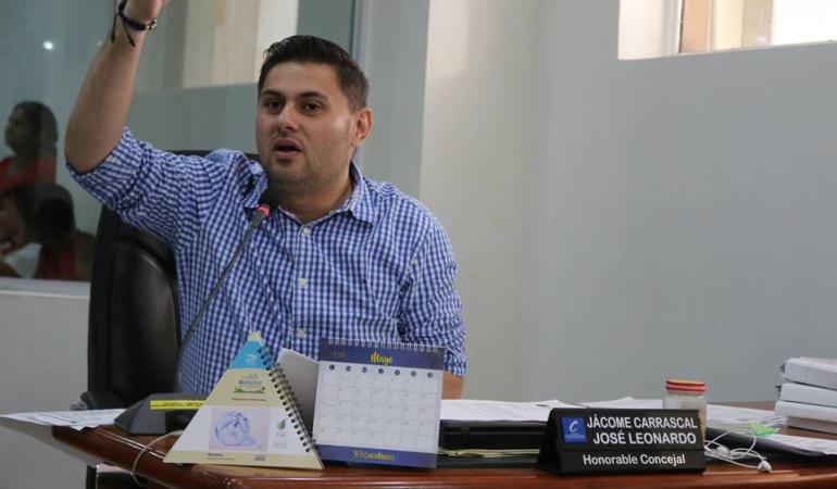 Concejal de Cúcuta Leonado Jácome