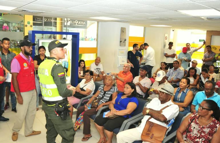 Inician campaña para prevenir el fleteo y fraude electrónico en Cartagena: Inician campaña para prevenir el fleteo y fraude electrónico en Cartagena